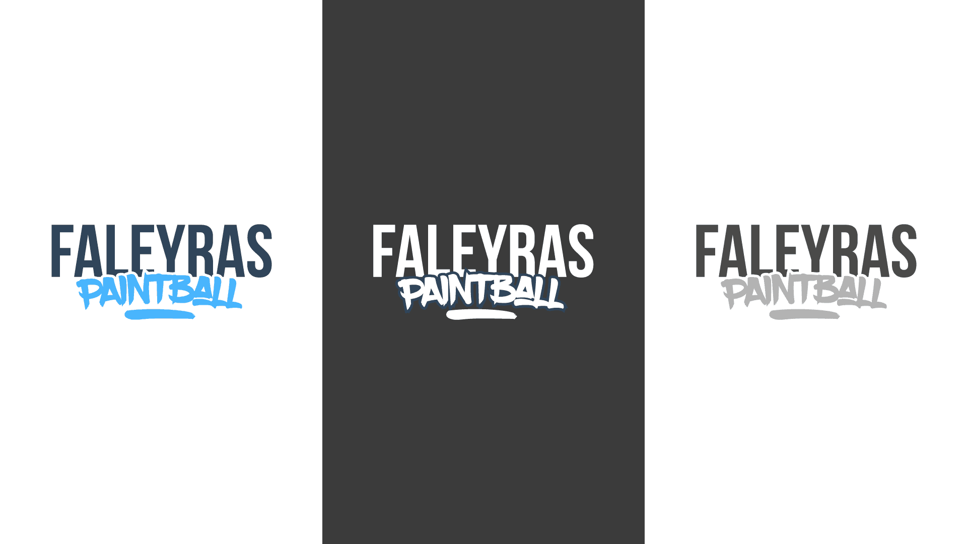 Logo Faleyras Paintball